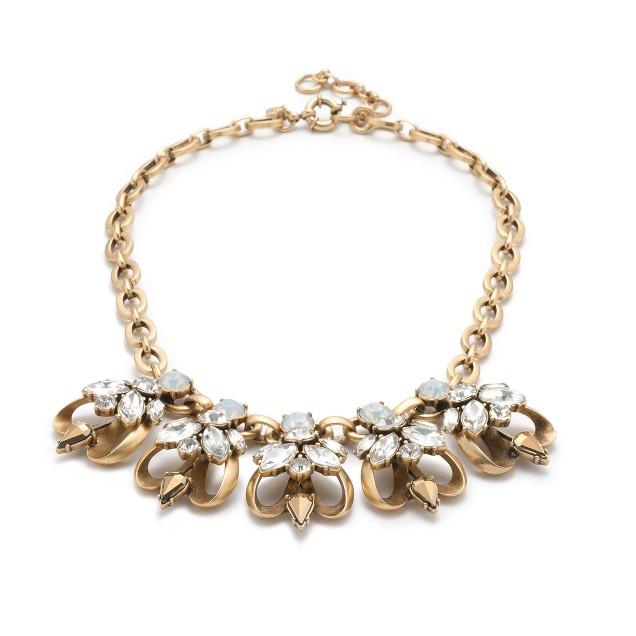 Crystal honeybee necklace