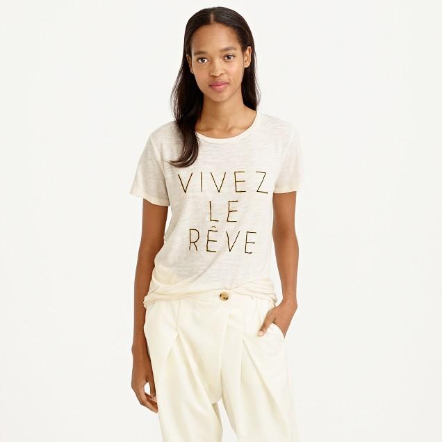 Vivez le rêve T-shirt