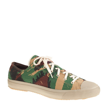 The Hill-side® French lizard camo sneakers