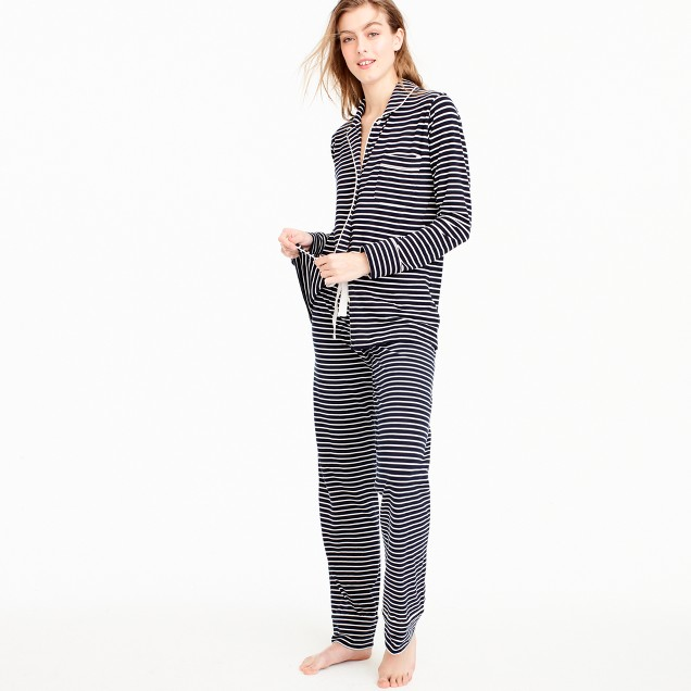 Dreamy cotton pajama set in stripe