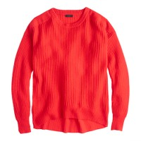 Collection cashmere oversize ribbed sweater