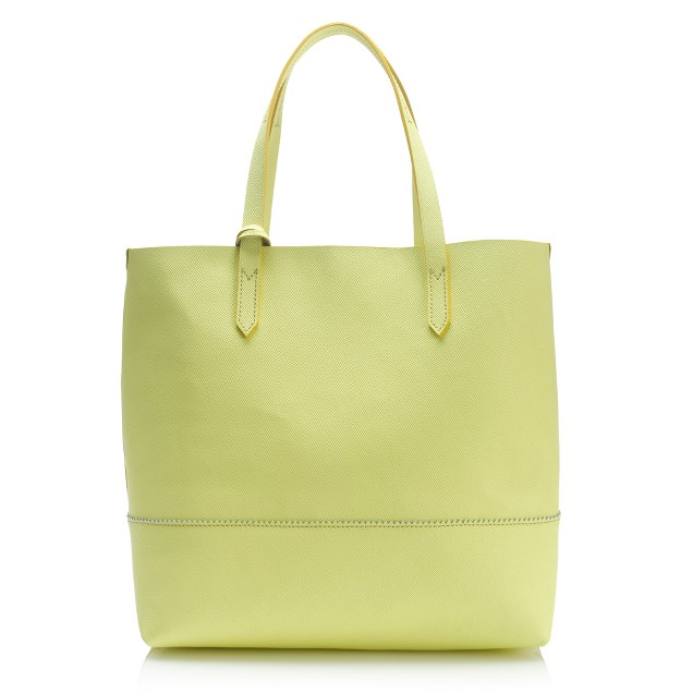 Downing tote in citron