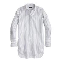 Petite endless shirt in blue stripe