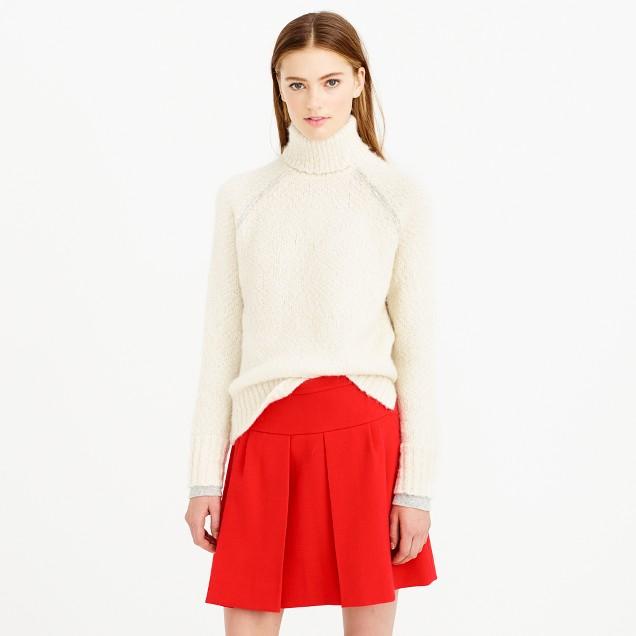 Alpaca turtleneck sweater