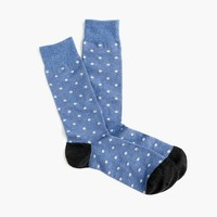 Small dot socks