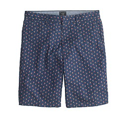 """9"""" club short in navy floral"""