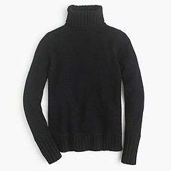 Collection cashmere chunky turtleneck sweater