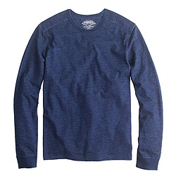 Wallace & Barnes long-sleeve indigo T-shirt