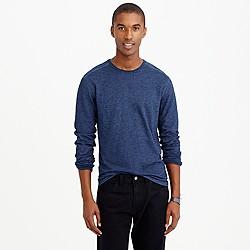 Wallace & Barnes long-sleeve indigo T-shirt
