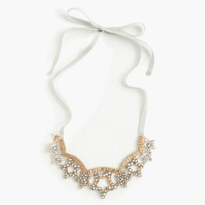 Girls' star gem necklace