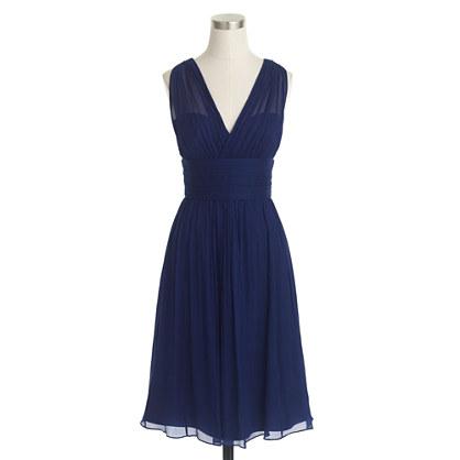 Ava dress in silk chiffon