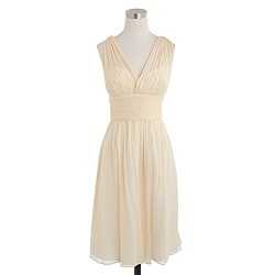 Ava dress in silk chiffon