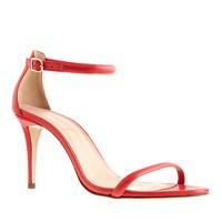 Strappy high-heel sandals