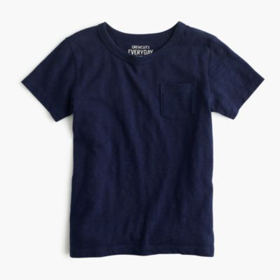 Boys' slub pocket T-shirt