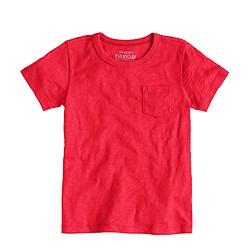 Boys' short-sleeve pocket T-shirt