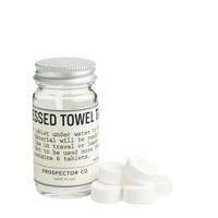 Prospector Co.™ compressed towel tablets