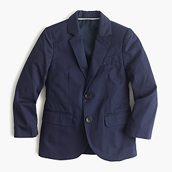 Boys' Ludlow suit jacket in Italian chino