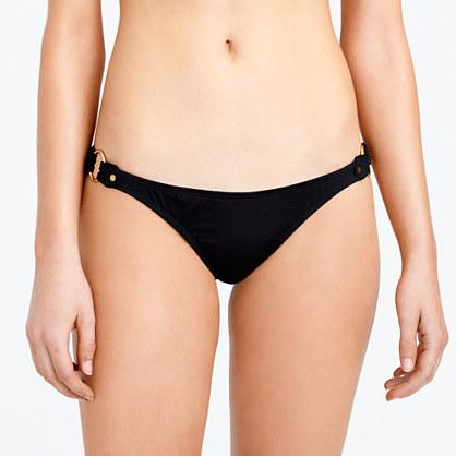 Italian matte rivet hipster bikini bottom