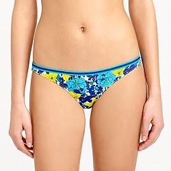 Retro floral shrunken lowrider bikini bottom
