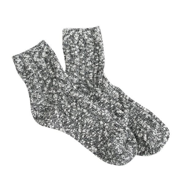 Chunky marled socks