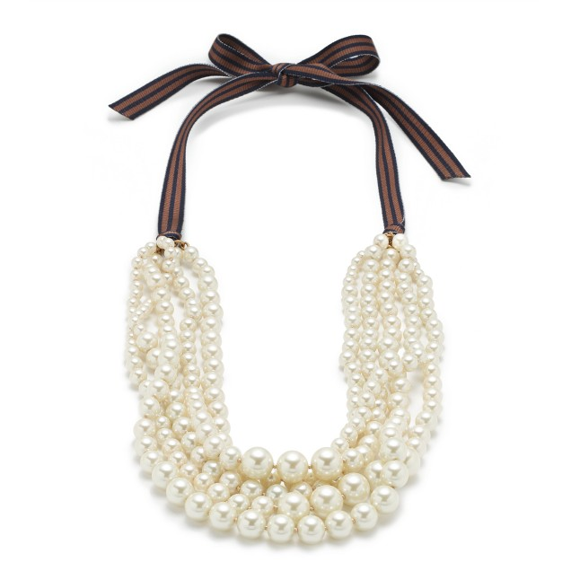 Pearl hammock necklace