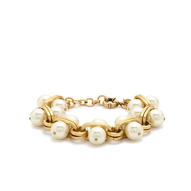 Pearl-lock bracelet