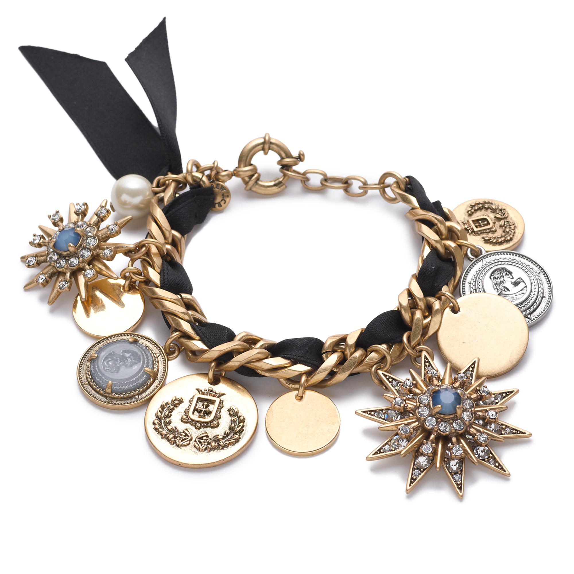 Mixed charm bracelet j crew for J crew jewelry 2015