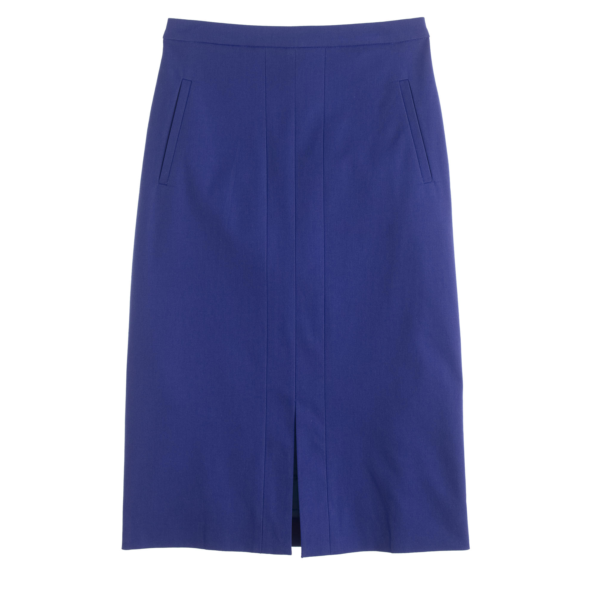 A-line skirt in bi-stretch cotton : Women suiting skirts | J.Crew