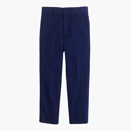 Boys' Ludlow suit pant in Italian chino