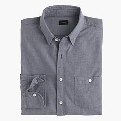 Tall jaspé cotton shirt