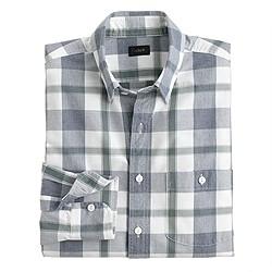 Jaspé cotton shirt in spring plaid
