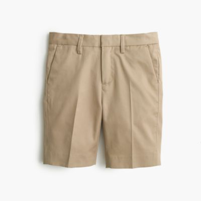 Boys' Ludlow suit short in Italian chino