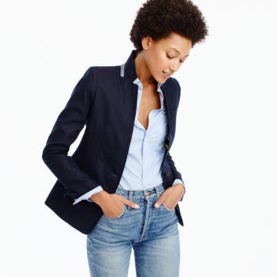 Regent blazer in linen : | J.Crew
