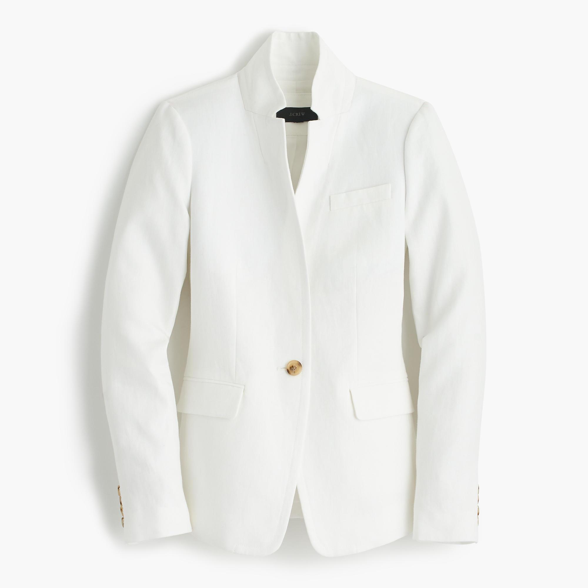 Petite Regent Blazer In Linen :