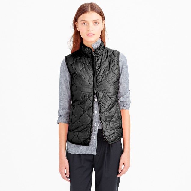Layering vest with Primaloft®