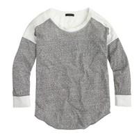 Colorblock burnout T-shirt