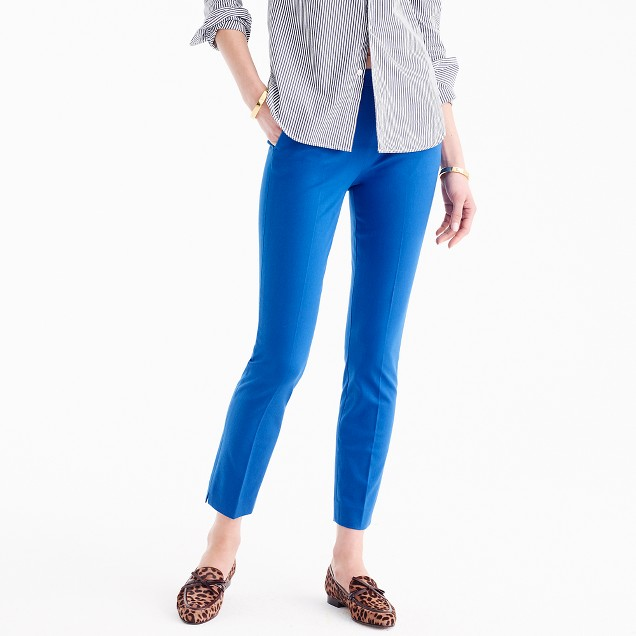 Martie pant in two-way stretch cotton