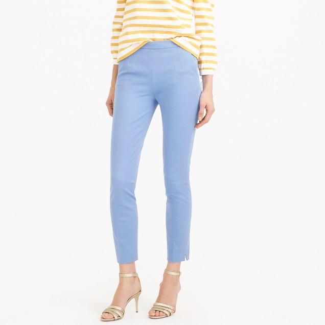 Petite Martie pant in bi-stretch cotton