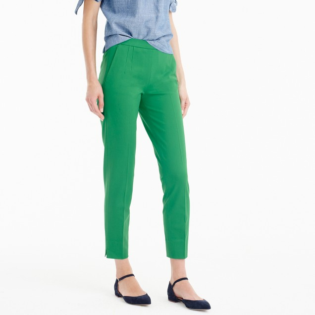 Tall Martie pant in two-way stretch cotton