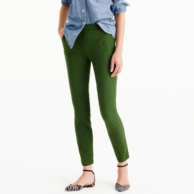 Martie pant in bi-stretch cotton