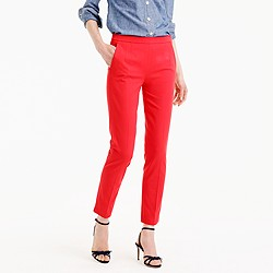 Petite Martie pant in bi-stretch cotton
