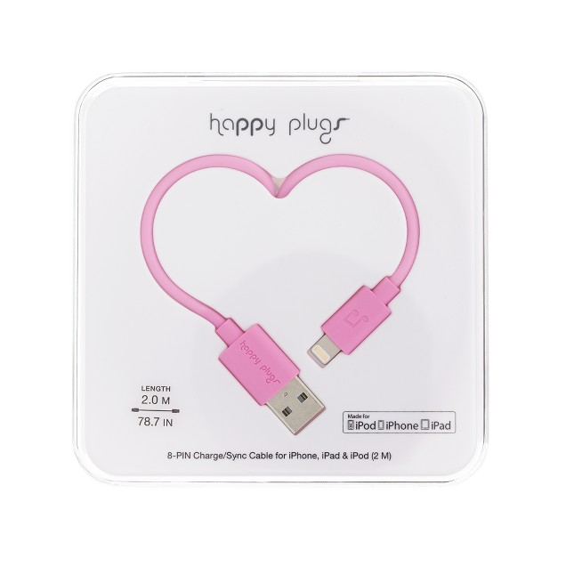 Happy Plugs™ lightning cable