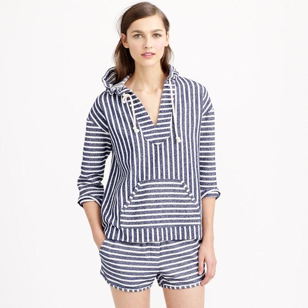 Baja striped hoodie