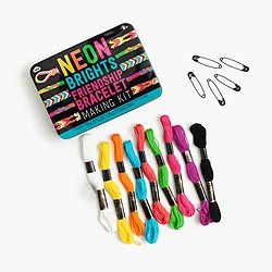 Kids' NPW™ neon brights friendship bracelet making kit