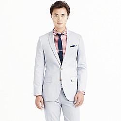 Ludlow suit jacket in Italian cotton