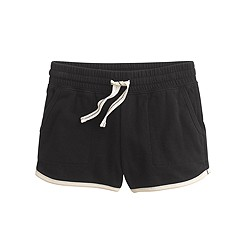 Girls' pull-on track short