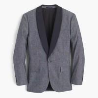 Ludlow tuxedo jacket in Japanese chambray