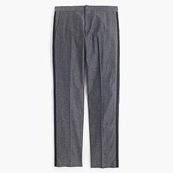 Ludlow tuxedo pant in Japanese chambray