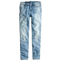Lookout high-rise jean in sharky wash