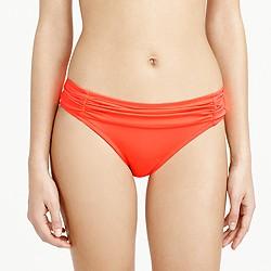Neon glamour girl hipster bikini bottom